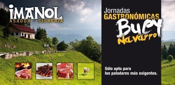 Jornadas Gastronómicas Buey Navarro Imanol